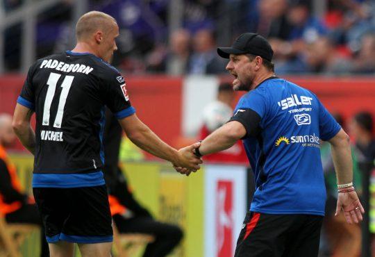 Michel Sven Steffen Baumgart SC Paderborn 07 1. FC Köln 2. Bundesliga