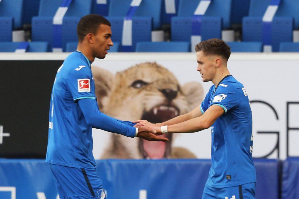 Hoffenheim Gollnack Dynamo Dresden Baumgartner Akpoguma