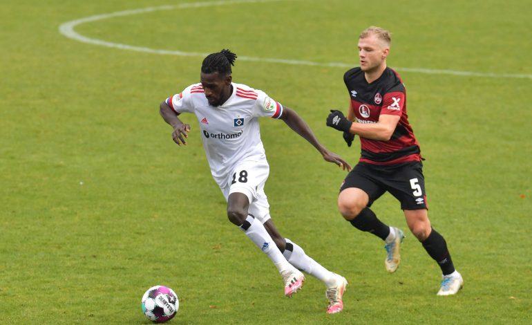Bundesliga 2. Voraussichtliche Aufstellungen 1. FC Nürnberg Hamburger SV Geis Jatta