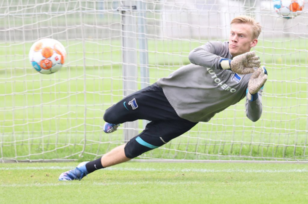 Christensen Oliver Alexander Schwolow Pal Dardai Hertha BSC Berlin Bundesliga