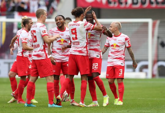 Nkunku Mukiele Leipzig Bundesliga
