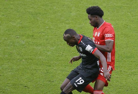 Bundesliga Aufstellungen Voraussichtliche Bayer Leverkusen FC Bayern München Moussa Diaby Alphonso Davies