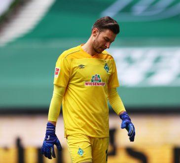 Pavlenka Jiri Bremen Werder Bundesliga Michael Zetterer